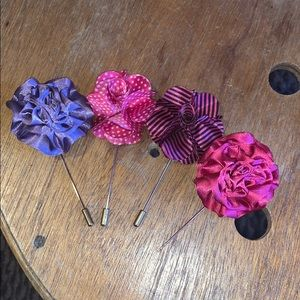 Other - 4 flower pins